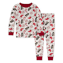 Burt's Bees Baby® 2-Piece Holiday Cookies Organic Cotton Pajama Set