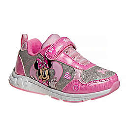 Disney® Size 8 Minnie Mouse Sneaker in Pink/Silver