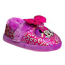 Disney® Size 9-10 Minnie Mouse Slipper in Fuchsia/Purple