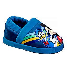 Disney® Size 11-12 Mickey Mouse Slipper in Navy/Multi