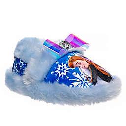 Disney® Size 9-10 Frozen Slippers in Light Blue