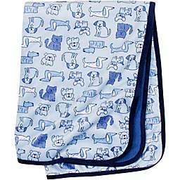 Gerber® Dogs Plush Blanket in Blue