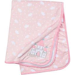 Gerber® Princess Castle Plush Blanket in Pink