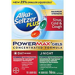 Alka-Seltzer Plus® 16-Count Day/Night Sinus & Cold PowerMax Liquid Gels