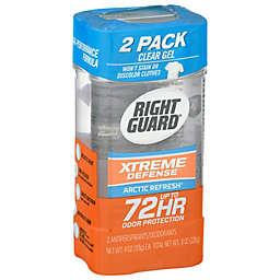 Right Guard® Xtreme Defense 2-Pack 4 oz. Antiperspirant Deodorant Gel in Arctic Refresh