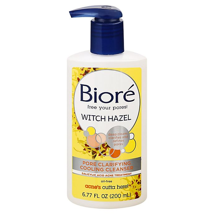 Alternate image 1 for Bioré® 6.77 oz. Witch Hazel Pore Clarifying Cooling Cleanser