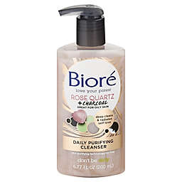 Bioré® 6.77 oz. Rose Quartz + Charcoal Daily Purifying Cleanser