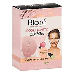 Bioré® 3.77 oz. Rose Quartz + Charcoal Gentle Cleansing Bar