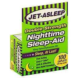 Jet-Asleep® 100-Count Double Strength Nighttime Sleep Aid