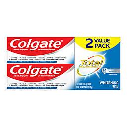Colgate® Total Whitening 4.8 oz. Gel Toothpaste (2-Pack)