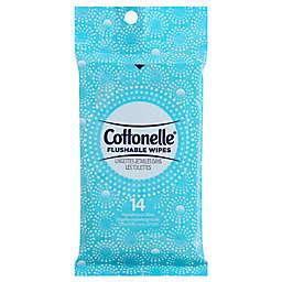 Cottonelle® 14-Count Flushable Wet Wipes