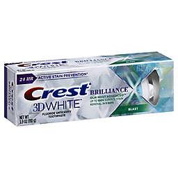 Crest® 3D 3.9 oz. White Brilliance Whitening Toothpaste in Blast