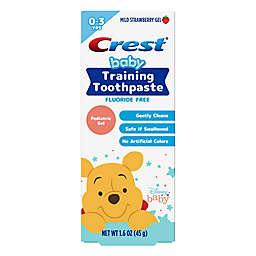 Crest® Winnie the Pooh Baby Training 1.6 oz. Gel Toothpaste in Mild Strawberry