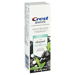Crest® 3D White 4.1 oz. Whitening Therapy Charcoal Toothpaste with Tea Tree Oil