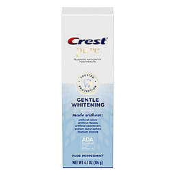Crest® Pure 4.1 oz. Gentle Whitening Toothpaste with Fluoride in Pure Peppermint