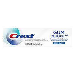 Crest® 0.85 oz. Gum Detoxify Deep Clean Toothpaste