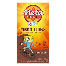 Metamucil Kids 12-Count Chocolate Flavor Fiber Supplement Thins
