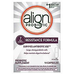 Align 14-Count Antibiotic Resistance Probiotic Capsules