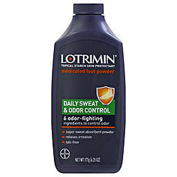 Lotrimin® Daily Sweat and Odor Control 6.25 oz. Medicated Foot Powder