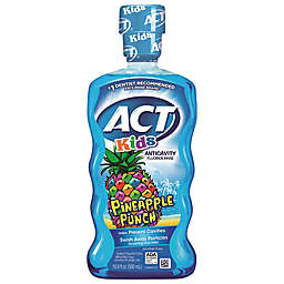 ACT® Kids Pineapple Punch 16.9 oz. Anticavity Fluoride Mouth Rinse