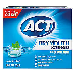 ACT® 36-Count Dry Mouth Lozenges in Soothing Mint with Xylitol