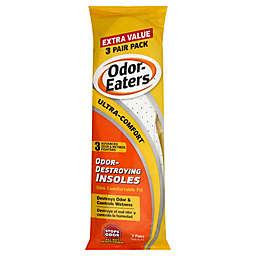 Odor-Eaters 3-Pack Ultra Comfort® Odor-Destroying Insoles