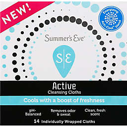 Summer's Eve® 14-Count Active Cooling Cloths