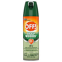 OFF!® 4 oz. Deep Woods® Dry Insect Repellent VIII Aerosol Spray