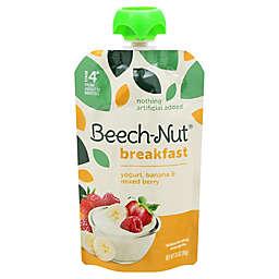 Beech-Nut® 3.5 oz Stage 4 Breakfast Yogurt Banana & Mixed Berry Baby Food