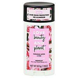 Love Beauty and Planet 2.95 oz. Aluminum-Free Pampering Deodorant Stick in Murumuru Butter and Rose