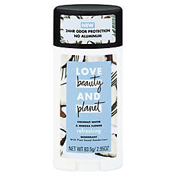 Love Beauty and Planet 2.95 oz. Aluminum-Free Pampering Deodorant Stick in Coconut Water and Mimosa
