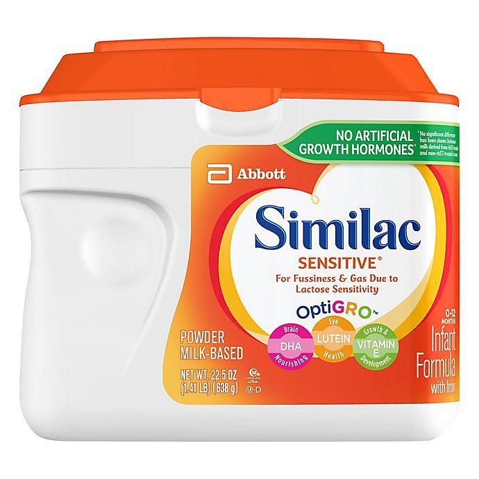 Alternate image 1 for Similac Sensitive® 1.41 lb. Infant Formula Powder