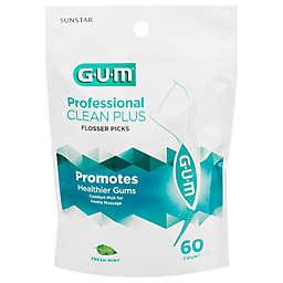 GUM® 60-count Pro Clean Flosser Picks in Mint