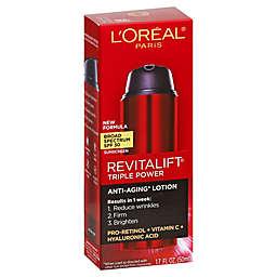 L'Oreal® Paris 1.7 fl. oz. Revitalift® Triple Power Anti-Aging Lotion SPF 30