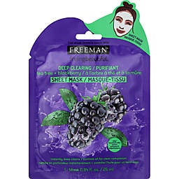 Freeman® Deep Clearing Tea Tree + Blackberry Facial Sheet Mask