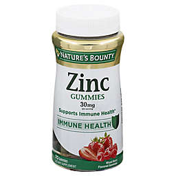 Nature's Bounty® 70-Count 30 mg Zinc Gummies in Mixed Berry