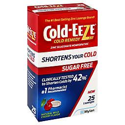 Cold-EEZE® 25-Count Sugar Free Lozenges in Wild Cherry