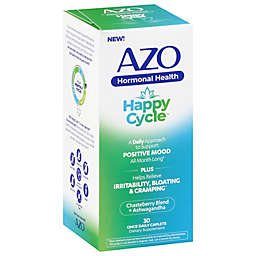 Azo®  Happy Cycle™ 30-Count Hormonal Health Dietary Supplements