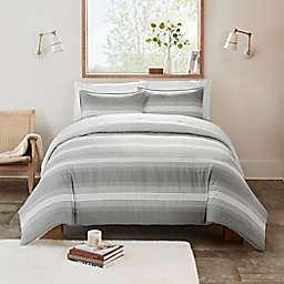 UGG® Devon 3-Piece Reversible Full/Queen Comforter Set in Grey Ombre