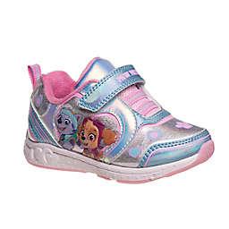 Nickelodeon™ PAW Patrol Size 10 Sneaker in Silver/Pink