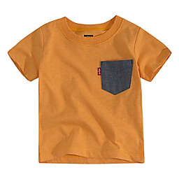 Levi's® Francis Pocket T-Shirt in Orange/Black