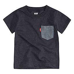 Levi's® Francis Pocket T-Shirt in Black/Grey