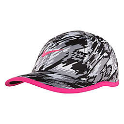 Nike® Infant Graphic Feather Light Cap in Black/Pink