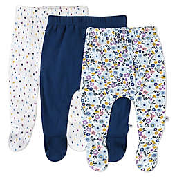 The Honest Company® 3-Pack Fall Floral Footed Harem Pants