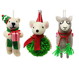 H for Happy™ Felt Critter Ornaments