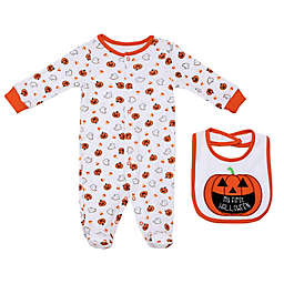 Baby Starters® 2-Piece First Halloween Sleep and Play Footie with Bib Set