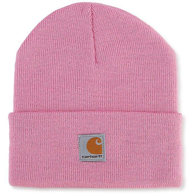 Alternate image 1 for Carhartt® Infant/Toddler Knit Hat in Pink
