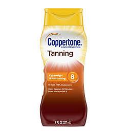 Coppertone® 8 fl. oz. Tanning Lotion Sunscreen SPF 8