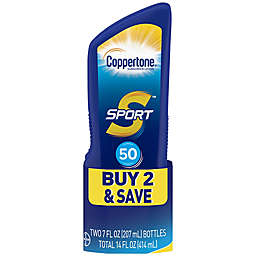 Coppertone® Sport® 2-Pack 7 oz. High Performance Sunscreen Lotion SPF 50