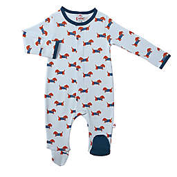 E=MC2 Size 6M Pawfect Magnetic Footie in Blue